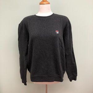 Fila   Women's Crew Neck Sweatshirt   Grey